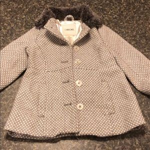18 month girls peacoat